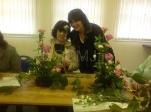 Flower arranging Community College.JPG 3 (Medium)