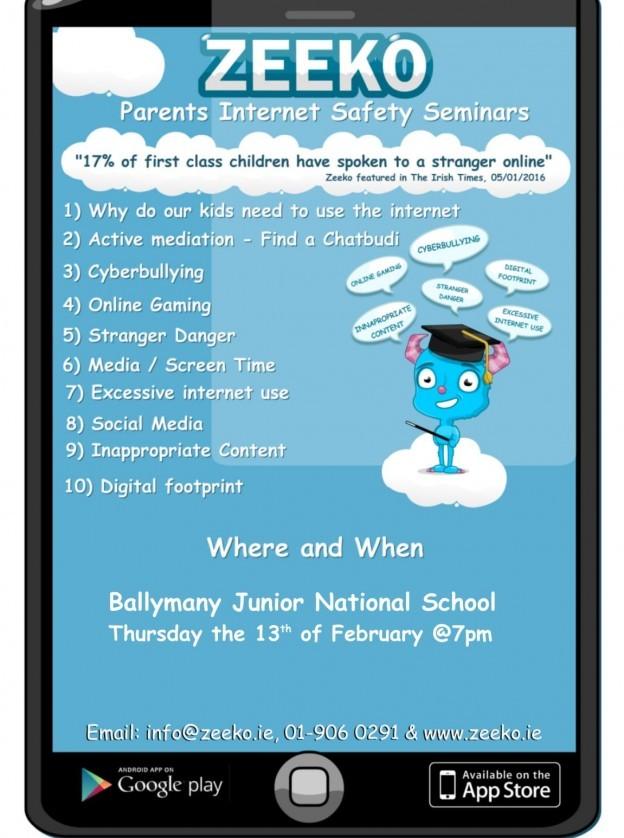 Internet Safety Talk for Parents-1